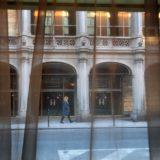 Street scene, Brussels.
