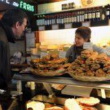 Sandwich shop, Brussels.