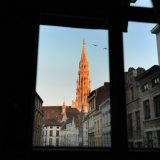Town Hall spire, Brussels.