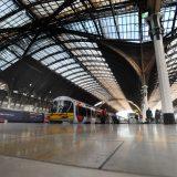 London's Paddington Station, England's busiest railroad hub.