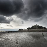 St. Michael's Mount at low tide.