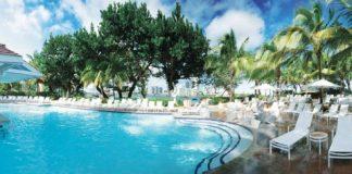 The pool at Conrad San Juan Condado Plaza.