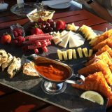 A sampler platter of treats at Hotel Duval's Level 8 Lounge.