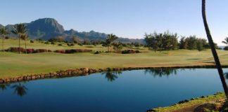 Poipu Bay Golf Course in Kauai, HI.