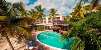Bolongo Bay Beach Resort, St. Thomas.