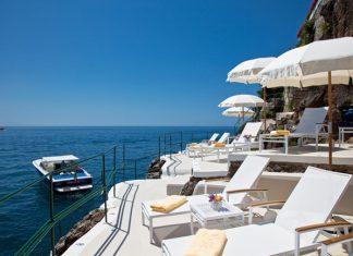 Palazzo Sasso on the Amalfi Coast.