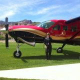 A small plane ride into the resort from the Grand Junction airport gives guests a special view of the area