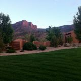 Views from Gateway Canyons Resort.