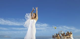 Wedding day beachside fun at Now Amber Puerto Vallarta