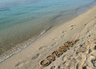 Beach of Cozumel