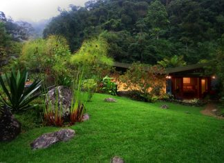 Monte Azul Boutique Hotel in the Talamanca Mountain Range in Costa Rica.
