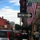Corner in Salem, MA.