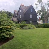 House of the Seven Gables in Salem, MA.
