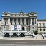 Directly across the street from the Capitol Building is the Library of Congress.