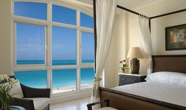Resort accommodations range from jr. suites to 4-bedroom condos.