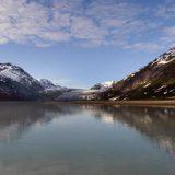 Baird Glacier empties into Glacier Bay, a thoroughly Alaskan scene.