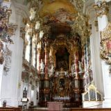 Wieskirche, Pilgrimage Church of the Scourged Saviour, was designed in the famed rococo style.