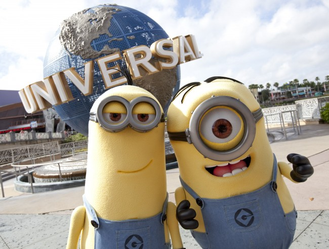 Despicable Me Minion Mayhem, a new attraction at Universal Studios in Orlando.
