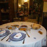 Fez-Dinner at Riad Ghita