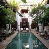Marrakech-Pool at Riad Slitine