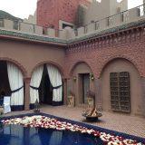 Kasbah Tamadot Reflecting Pool