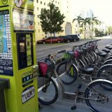 DecoBike, a bike-share program in South Beach, affords visitors a chance to get outdoors and explore the city.
