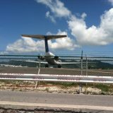 The landing strip on the other side of Maho Beach is also a great spot to catch a hot breeze as big jets start their engines in preparation for take off.