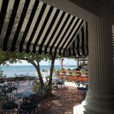 The patio adjacent to the Sea Grape Terrace.