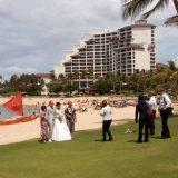 Weddings are common at Aulani, A Disney Resort & Spa.