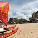 In addition to inland water attractions, the beach at Aulani, A Disney Resort & Spa is a potent draw for guests.