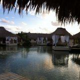 View from a lakeside villa at El Secreto.