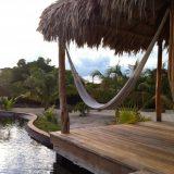 Private villa hammock at El Secreto.