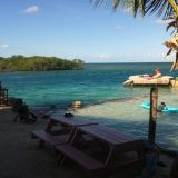 On Caye Caulker -- pure relaxation.
