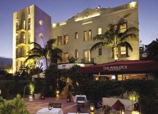 The 45-suite resort.