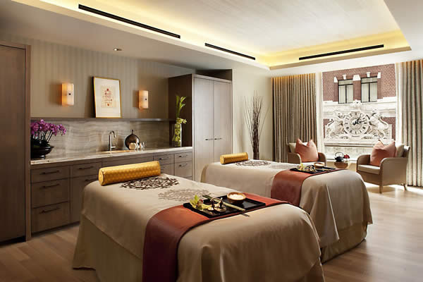 Treatment Room at The Spa at Mandarin Hotel, San Francisco