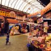 The Naha Public Market is a wonderland of color, atmosphere and delightful local food stalls where locals enjoy Okinawa's distinct cuisine.