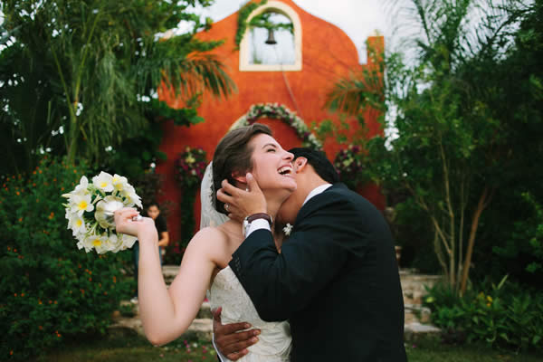 A Yucatan moment at Hacienda Dzibikak, planned by Eventalia