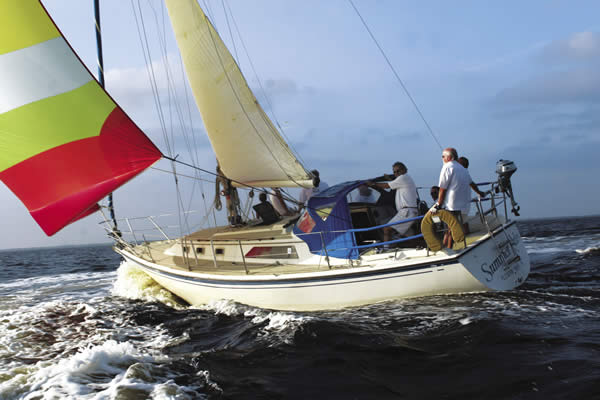 Sailing on the Gulf, courtesy of charlotteharbortravel.com