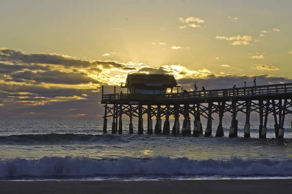 Cocoa Beach, courtesy of Florida's Space Coast Office of Tourism