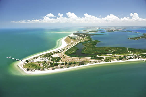 Fort De Soto Park, courtesy of Visit St. Petersburg/Clearwater