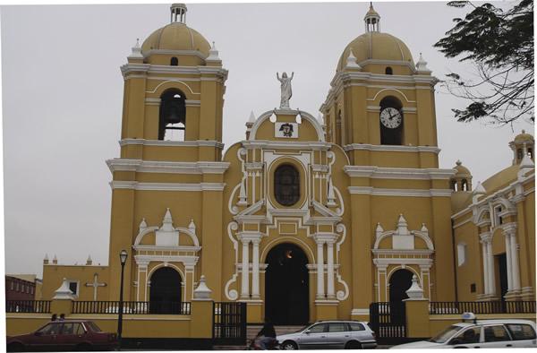 A colonial church in Trujillo