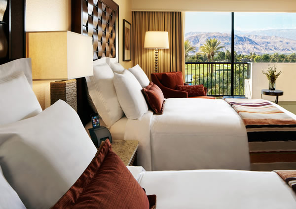Accommodations at JW Marriot Desert Springs Resort & Spa in California
