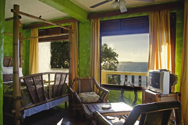 Accommodations at Villa Beachcliff on Grenada