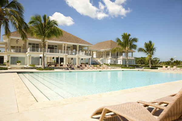 Club House at Puntacana Resort & CLub in Dominican Replublic