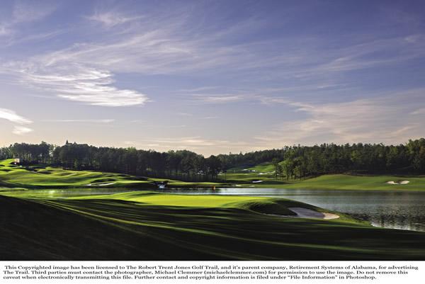 Golf course at the Renaissance Birmingham Ross Bridge Golf Resort & Spa