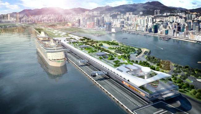 Kai Tak Cruise Terminal.
