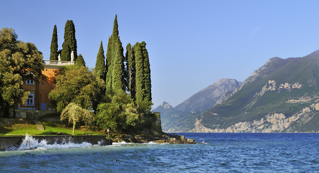 Lake Garda on the Best of France, Switzerland, Italy and All of San Marino tour.
