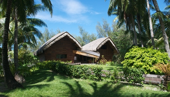 Le Meridien Bora Bora Ecological Center.