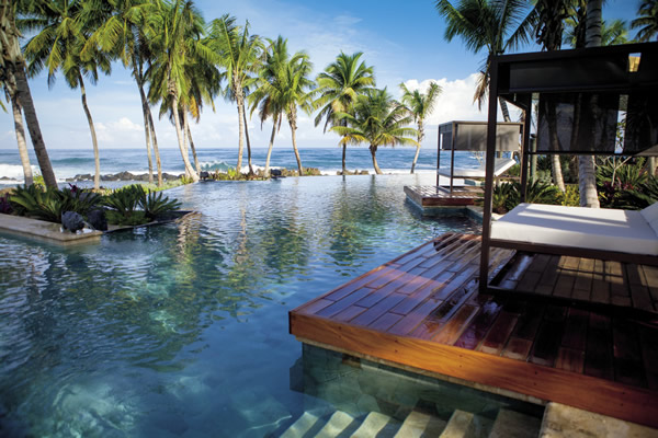 Poolside at Dorado Beach, A Ritz-Carlton Reserve in Puerto Rico