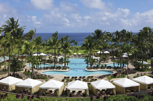 Poolside at The Ritz Carlton, Kapalua, Maui